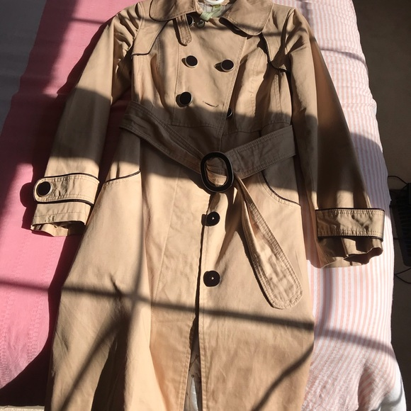 Soya & KYO Trench Coat